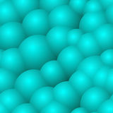 Abstract background with blue bubbles Stock Photo