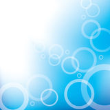 Abstract Background. Blue abstract background with bubbles Stock Images