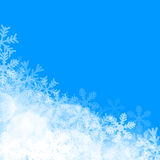 abstract background blue christmas Διανυσματική απεικόνιση