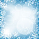 abstract background blue christmas Ελεύθερη απεικόνιση δικαιώματος