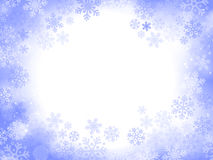 abstract background blue christmas Στοκ Φωτογραφία