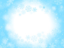 abstract background blue christmas Στοκ Φωτογραφίες