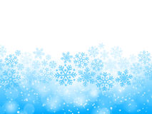abstract background blue christmas Στοκ Εικόνα