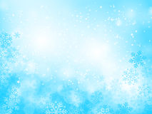 abstract background blue christmas Στοκ Εικόνες