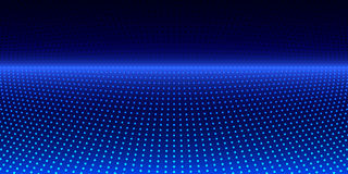 Abstract background with blue circles. Royalty Free Stock Image