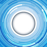 Abstract  background blue. Abstract  background - circular 3D blue swirl, vector illustration Stock Photo