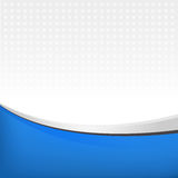 Abstract background in blue color. Vector illustration for your design Royalty Free Stock Photo
