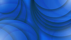 Abstract background of blue color. Curved lines. Vector illustra Stock Photo