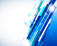Abstract background in blue color. This is file of EPS10 format Royalty Free Stock Photos