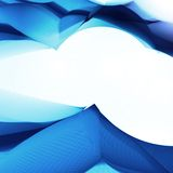 Abstract background in blue color. Futuristic illustration Royalty Free Stock Images