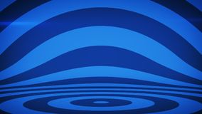Abstract background with blue concentric circles. Abstract striped background with blue concentric circles. 3D render illustration vector illustration