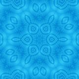 Abstract concentric blue pattern. Abstract background with blue concentric pattern royalty free illustration