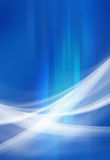 Abstract Background Blue. Abstract blue background with curves Vector Illustration