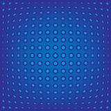 Abstract background blue dots Royalty Free Stock Photos