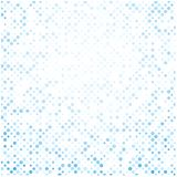 Abstract background with blue dots. White abstract background with blue dots pattern. Vector paper illustration Stock Images