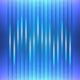 Abstract Background, Blue Equalizer Stock Image