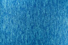 Abstract background of blue fabric. Texture, close up picture Royalty Free Stock Photography