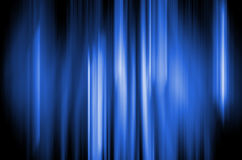 Abstract Background - Blue Fire Stock Photography