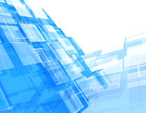 Abstract background. Blue frames-concept Royalty Free Stock Photography