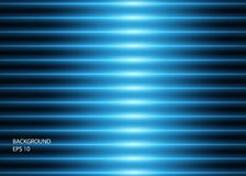 Abstract background of blue glowing neon lines or lights. Vector illustration royalty free illustration