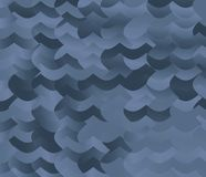 Abstract background blue and gray gradient wave pattern. Abstract background blue and gray, gradient wave design decoration pattern stock illustration