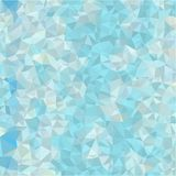 Abstract background of blue and gray light and dark fragments in the style of low-poly Stock Photos