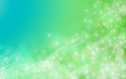 Abstract background. An abstract blue and green background Stock Photos