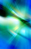 Abstract background in blue and green colors Stock Image