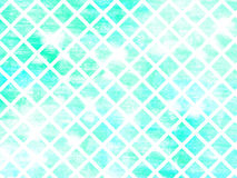 Abstract background - blue and green gradient with diamonds pattern Stock Photos