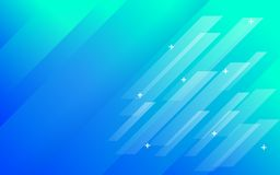 Abstract background blue green gradient with panels