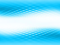Abstract background. Blue grid space Royalty Free Stock Image