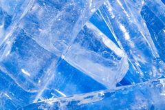 Abstract background of blue ice. Photo of an abstract texture royalty free stock image