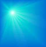 Abstract background. Abstract blue background with lighting effects Stock Illustration