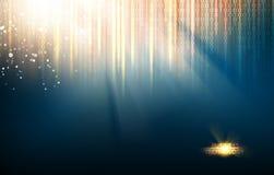 abstract background blue lights Στοκ φωτογραφίες με δικαίωμα ελεύθερης χρήσης