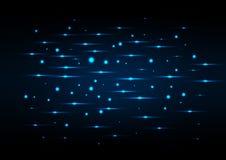 abstract background blue lights Στοκ Φωτογραφίες