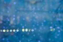 abstract background blue lights Στοκ εικόνες με δικαίωμα ελεύθερης χρήσης