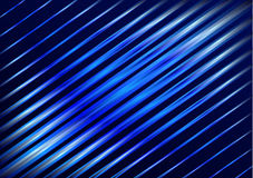 Abstract background blue lines Royalty Free Stock Photography