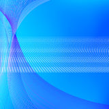 Abstract background with blue lines. Abstract vector background with blue blended lines Royalty Free Stock Photo