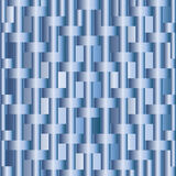 Abstract background with blue metallic bars. Vector Stock Photography