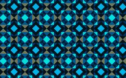 Abstract background. Blue mosaic illustration. Abstract background blue mosaic illustration geometric pattern seamless wallpaper backdrop party night print frame stock illustration