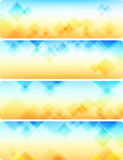 Abstract background blue-orange Stock Photos