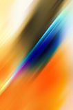 Abstract background in blue and orange tones. Made of diagonal lines that reperesent speed and action royalty free illustration