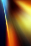 Abstract background in blue, orange, yellow and red Stock Image