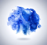 Abstract background with blue paint stroke. Elemen Stock Photo
