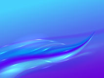 Abstract background with blue purple waves Stock Photos
