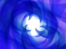 Abstract background with blue and purple wavy lines Stock Photography