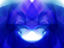 Abstract background with blue and purple wavy lines Stock Photos