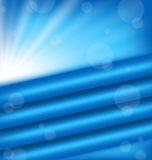 Abstract background with blue rays. Illustration abstract background with blue rays - vector Stock Photography