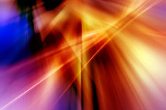 Abstract background in blue, red, yellow, orange and purple colors.  royalty free illustration