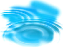 Abstract background with blue ripples. Abstract background with blue concentric ripples Royalty Free Stock Photo